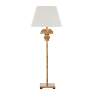 Aidan Gray Home Addison Table Lamp - Distress Gold - Pair