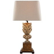 Aidan Gray Home Adia Table Lamp - Gold Leaf - Pair
