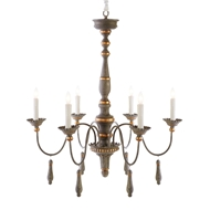 Aidan Gray Home Agen Medium Chandelier