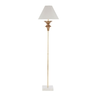 Aidan Gray Home Alana Buffet Lamp - distress gold at top. Gol L877 BFT