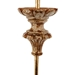 Aidan Gray Home Alana Table Lamp - distress gold at top. Gol L877 TBL