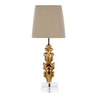 Aidan Gray Home Appleton Fragment Table Lamp - Gold