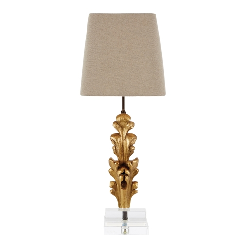 Aidan Gray Home Appleton Fragment Table Lamp - gold L880