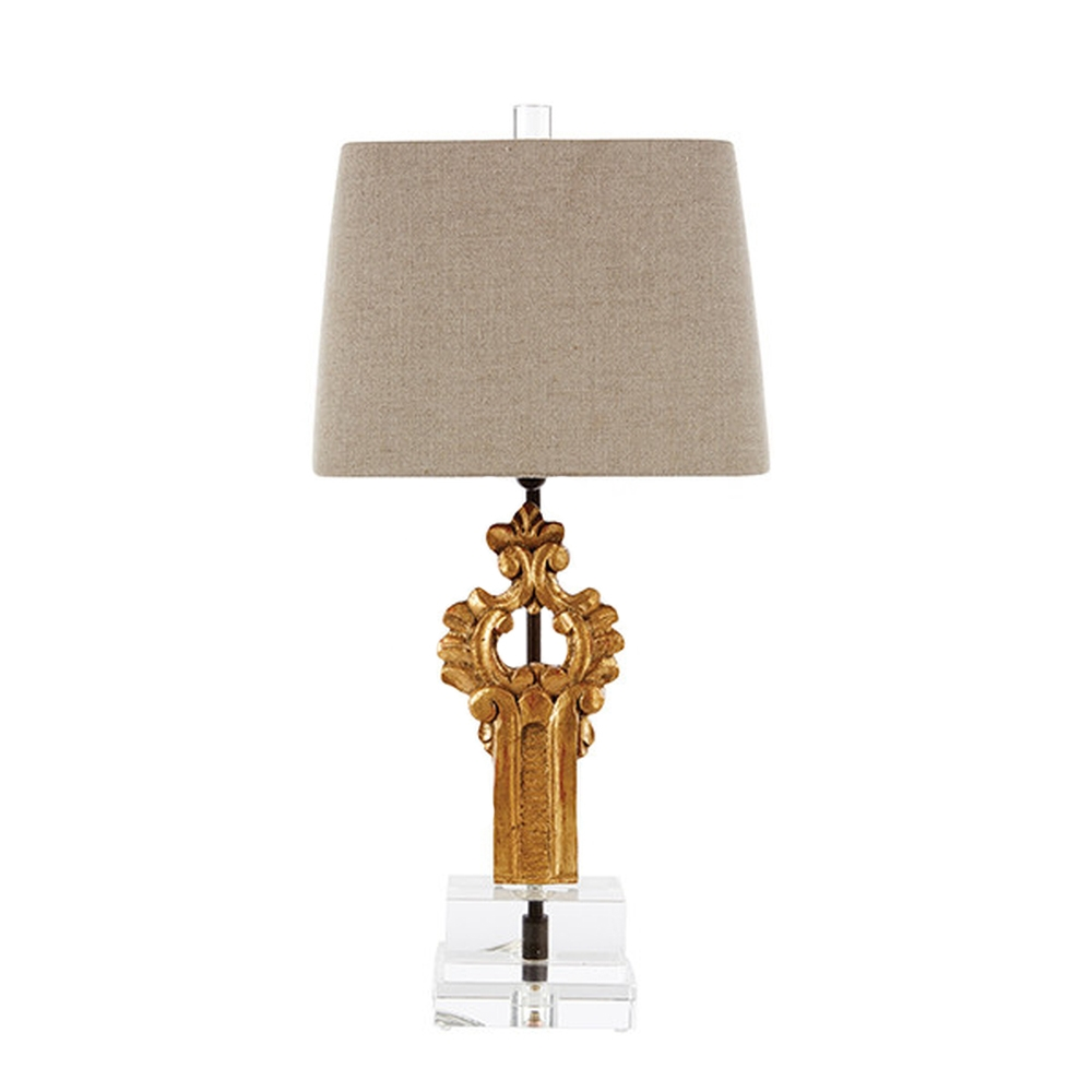 Aidan Gray Home Casco Fragment Table Lamp - gold L886