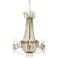 Aidan Gray Home Castle Howard Chandelier - Guilded Gold