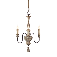 Aidan Gray Home Chartres Chandelier - TUSCAN GOLD L606 CHAN