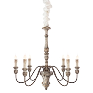 Aidan Gray Home Colmar Chandelier - Antique, White Gold