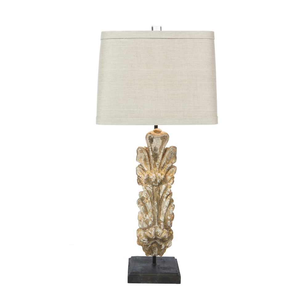 Aidan Gray Home Conques Table Lamp - gold gilt L615