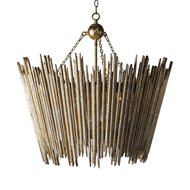 Aidan Gray Home Crown & Glory Gold Chandelier