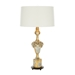 Aidan Gray Home Fergus Gold Table Lamp - bright gold leaf on gesso - Wood L873 GOLD