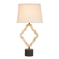 Aidan Gray Home Jonas Table Lamp - Natural Aged Gold - Pair