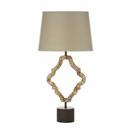 Aidan Gray Home Jonas Distressed Table Lamp - Textured Gray