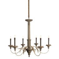 Aidan Gray Home Landini Small Chandelier - Gray