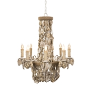 Aidan Gray Home Marche Chandelier - White