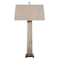 Aidan Gray Home Pilaster Column Lamp - Antique Gold