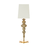 Aidan Gray Home Rakel Gold Table Lamp - Gold - Pair