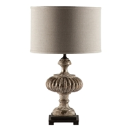 Aidan Gray Home Selma Table Lamp - Rustic Silver - Pair