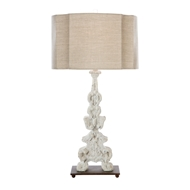 Aidan Gray Home Sheridan Table Lamp - Layered White