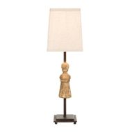 Aidan Gray Home Tassel Gold Guilt Table Lamp - Gold Guilt