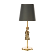 Aidan Gray Home Tassel Gold Table Lamp - Gold