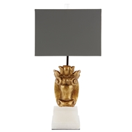Aidan Gray Home Wade Fragment Table Lamp - Gold