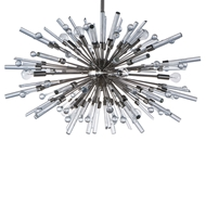 Aidan Gray Lighting Goliath Star Small Chandelier in Nickel - Nickel L541S NKL CHAN HOM