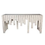 Aidan Gray Home Albert Console Table - Distressed Gray - Wood F227