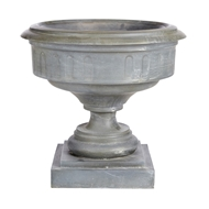 Aidan Gray Home Cranbrook Large Urn - Weathered Zinc - Iron- Sheet G121L