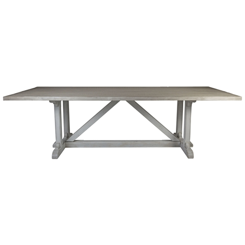 Aidan Gray Home Serenity Dining Table - Prague White - White Pine F101