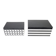 Aidan Gray Home Warren Box Set - Black and Cream - Resin D621 SET