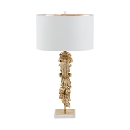 Aidan Gray Lighting Campobasso Fragment Table Lamp - Wood L144