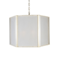 Aidan Gray Lighting Cryo Chandelier - Gold & Frosted Acrylic - Metal L927 CHAN HOM
