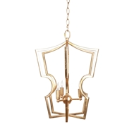 Aidan Gray Lighting Shinto Small Chandelier - Gold - Metal L330S CHAN HOM