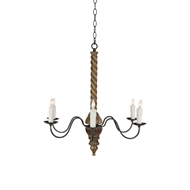 Aidan Gray Lighting Solomon Small Chandelier - Gold - Birch L322S CHAN