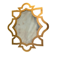 Aidan Gray Wall Decor Conner Large Mirror - Gold Leaf - Iron DM110L