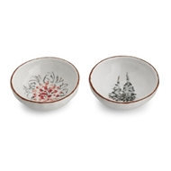 Arte Italica Home Natale Dipping Bowl - Set - Set of 2