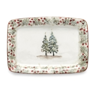 Arte Italica Home Natale Small Tray - Set of 2