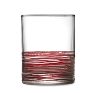 Arte Italica Home Rosa DOF Glass - Set of 4