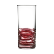 Arte Italica Home Rosa Highball Glass - Set of 4