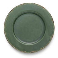 Arte Italica Home Scavo Green Charger - Set of 2