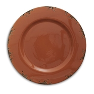Arte Italica Home Scavo Rust Charger - Set of 2