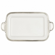 Arte Italica Home Tuscan Rectangular Tray with Handles