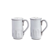 Arte Italica Home Bella Bianca Tall Salt and Pepper Shakers - Set of 2