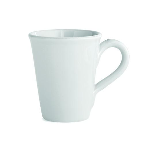 Arte Italica Home Graffiata White Mug - Set of 4