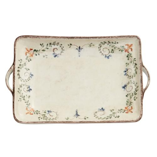 Arte Italica Home Medici Large Tray with Handles