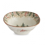 Arte Italica Natale Pasta/Cereal Bowl - Set of 4