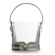 Arte Italica Taverna Crystal Ice Bucket with Handle