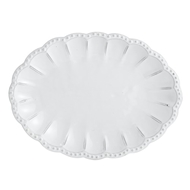 Arte Italica Home Bella Bianca Beaded Tray