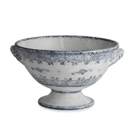 Arte Italica Home Burano Footed Bowl with Handles