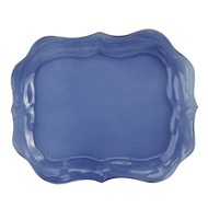 Arte Italica Home Burano Glass Large Blue Tray
